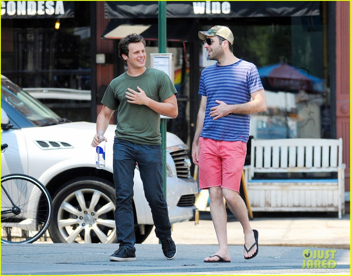 Jonathan groff and zachary quinto baby