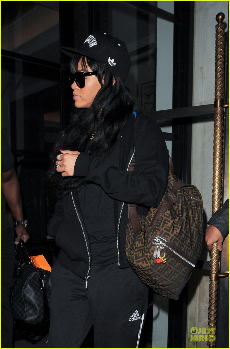 rihanna fendi backpack 06