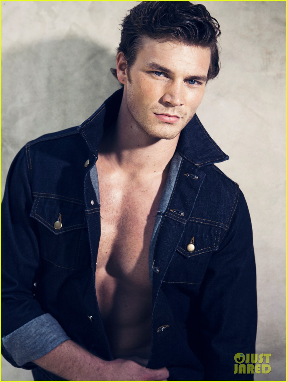 derek theler shirtless just jared photo shoot 07