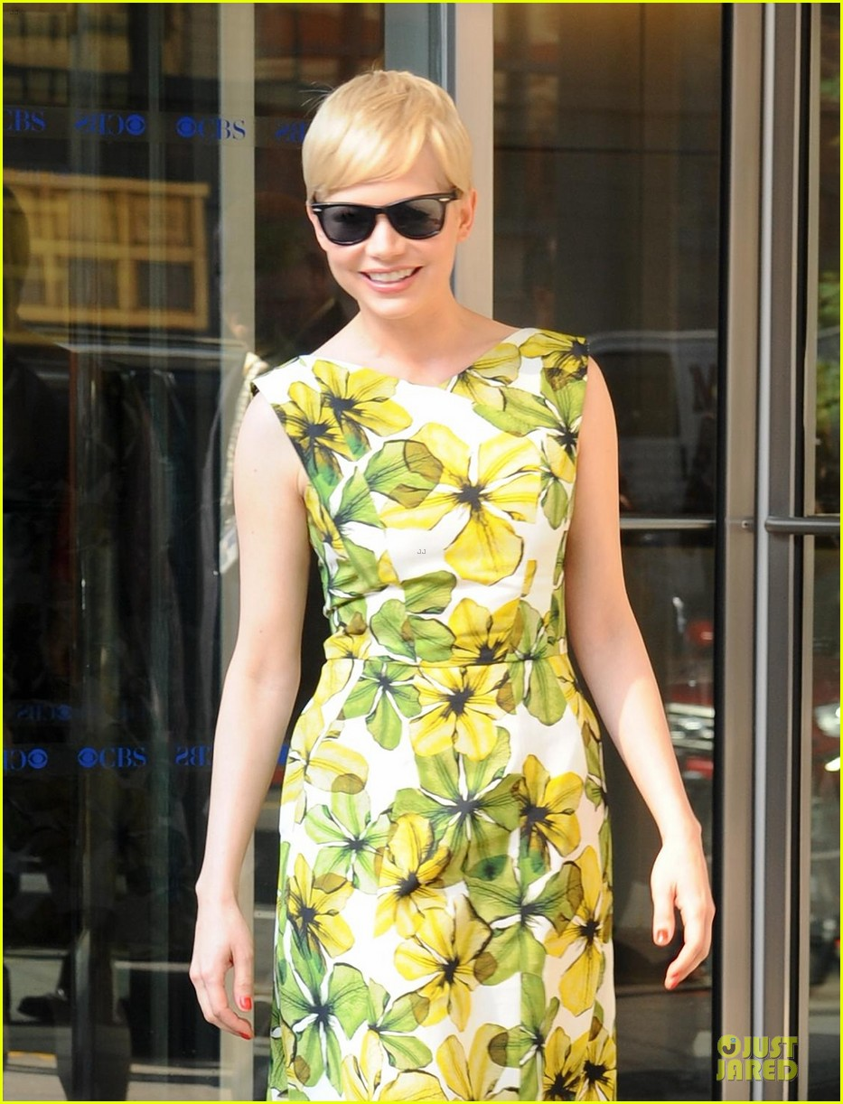 michelle williams cbs this morning 02