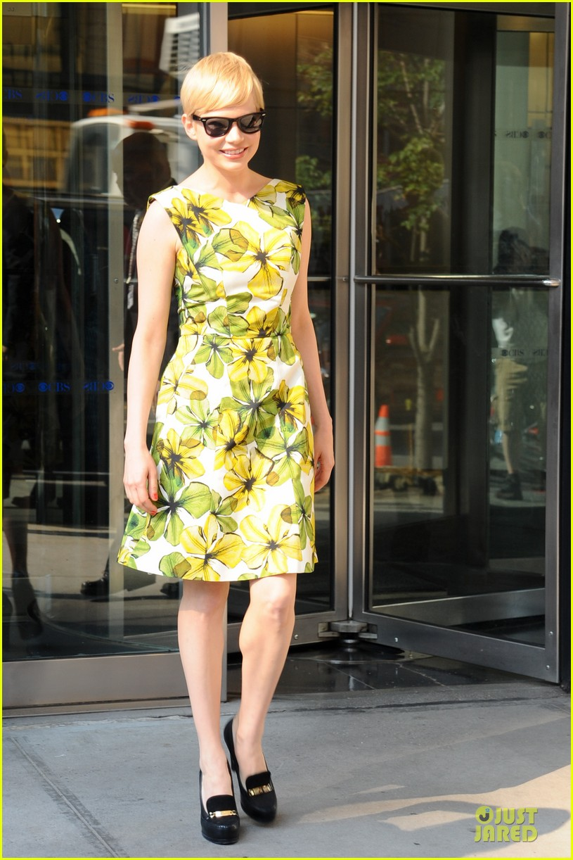michelle williams cbs this morning 05