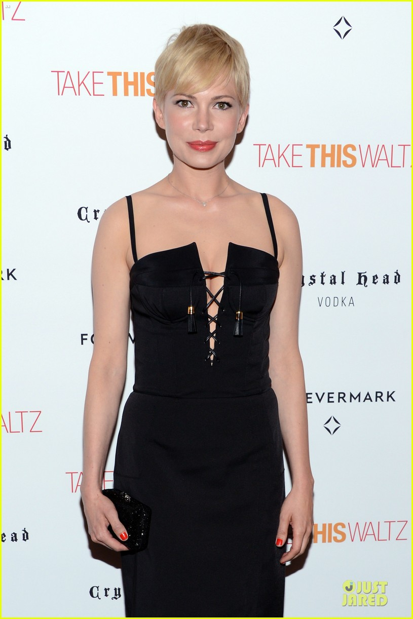 michelle williams take this waltz nyc screening 08
