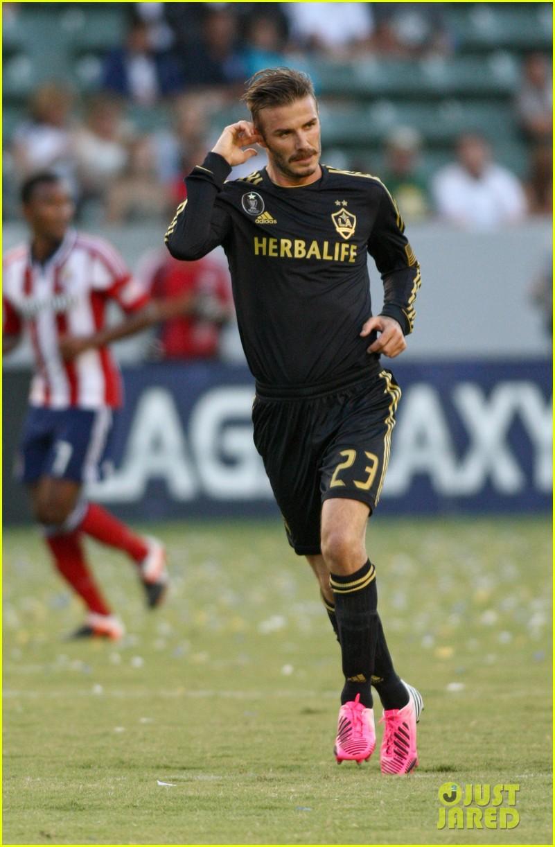 David Beckham galaxia chivas juego de 06
