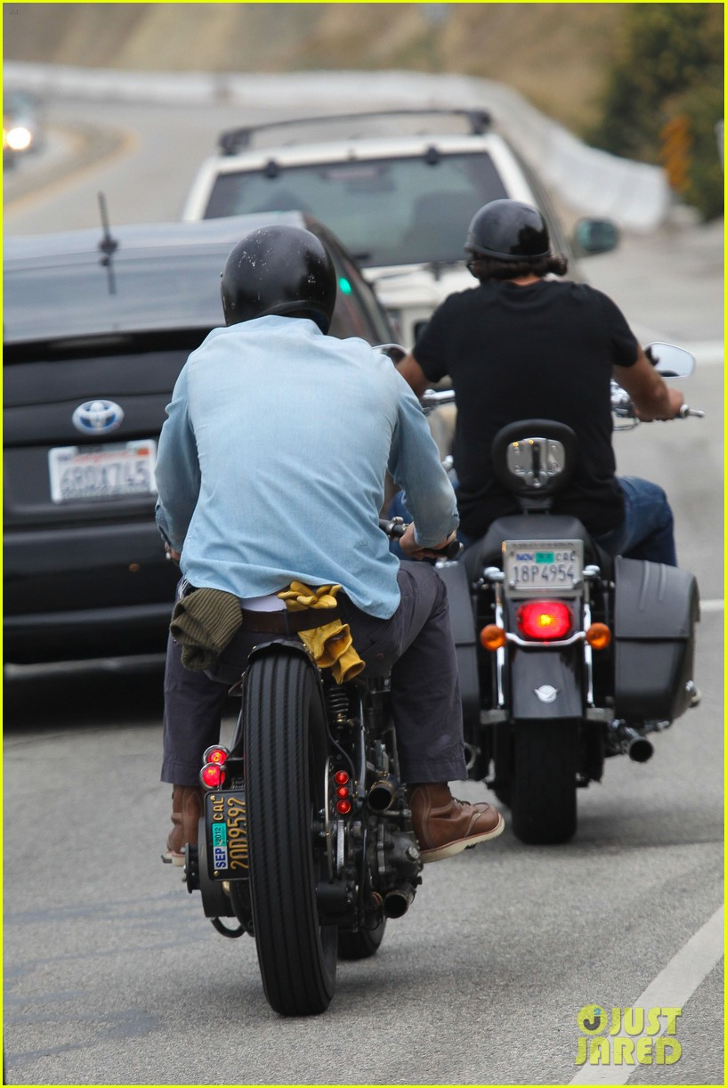 david beckham motorcycle cruising 12