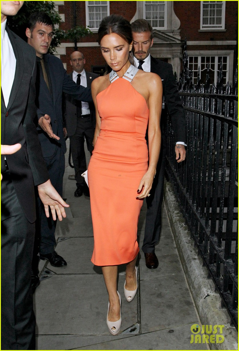 victoria david beckham simon fuller birthday party 07