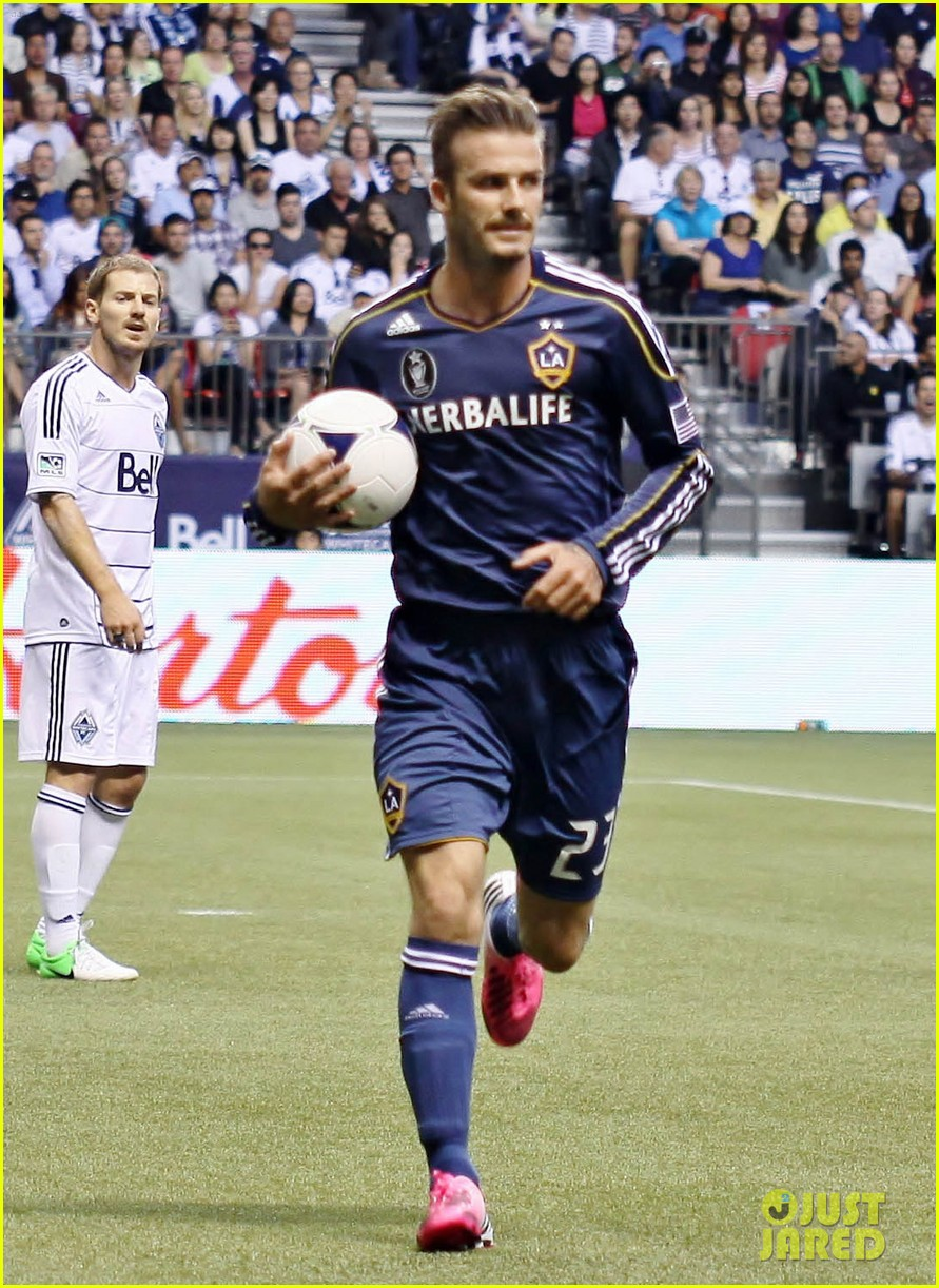 david beckham win against vancouver 11