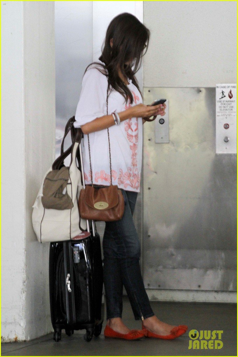 camilla belle lands in los angeles with evolet 11