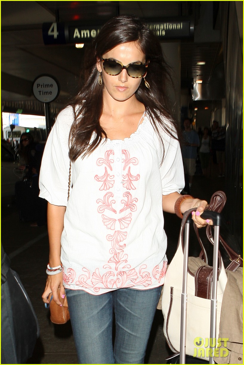 camilla belle lands in los angeles with evolet 12
