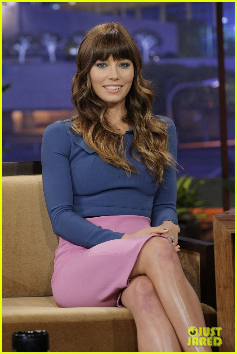 jessica biel tonight show with jay leno 042692403