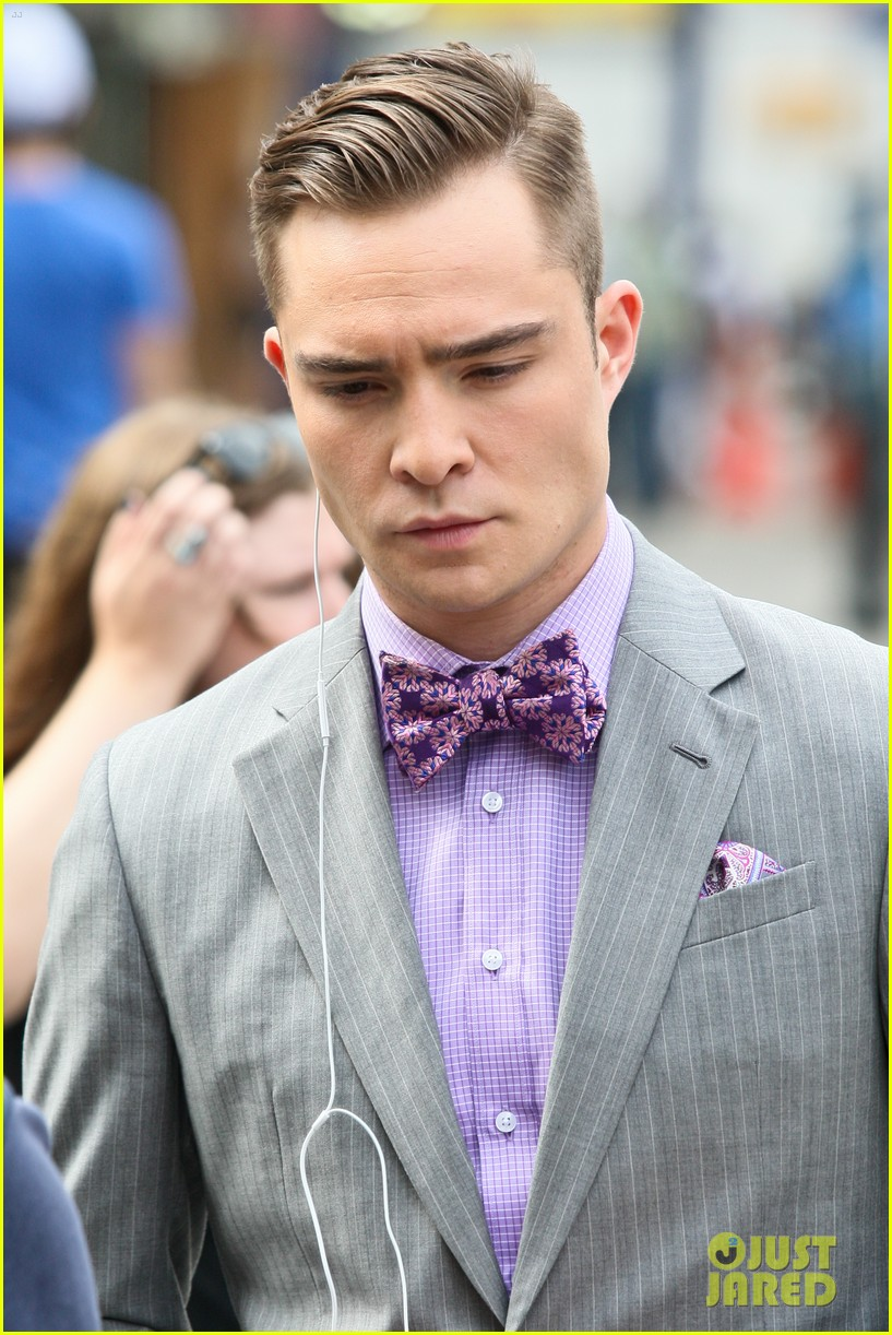 blake lively ed westwick gossip girl set 07