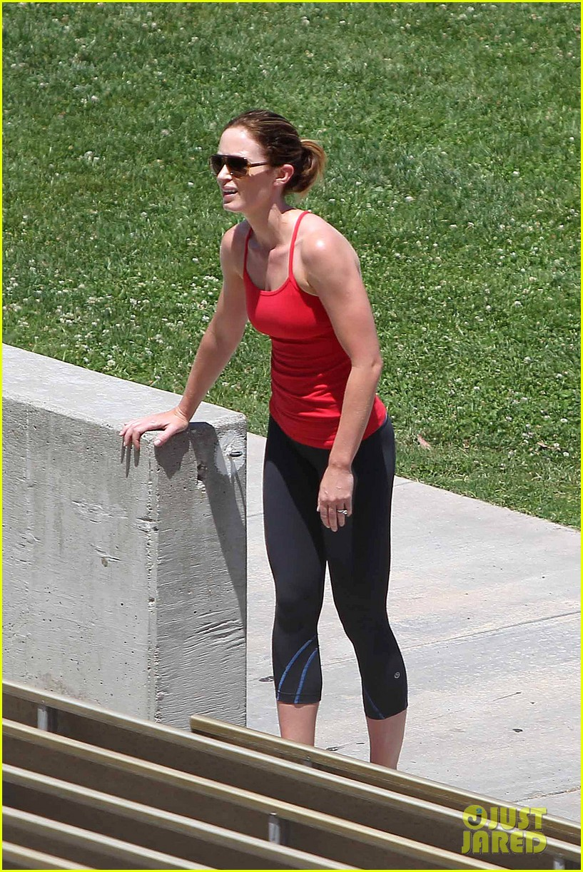 emily blunt workout 15