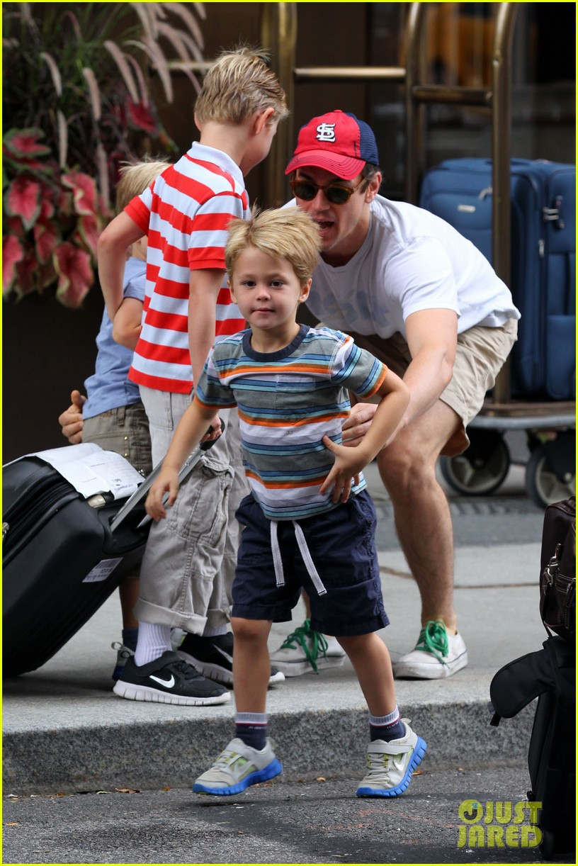 Matt Bomer and kids