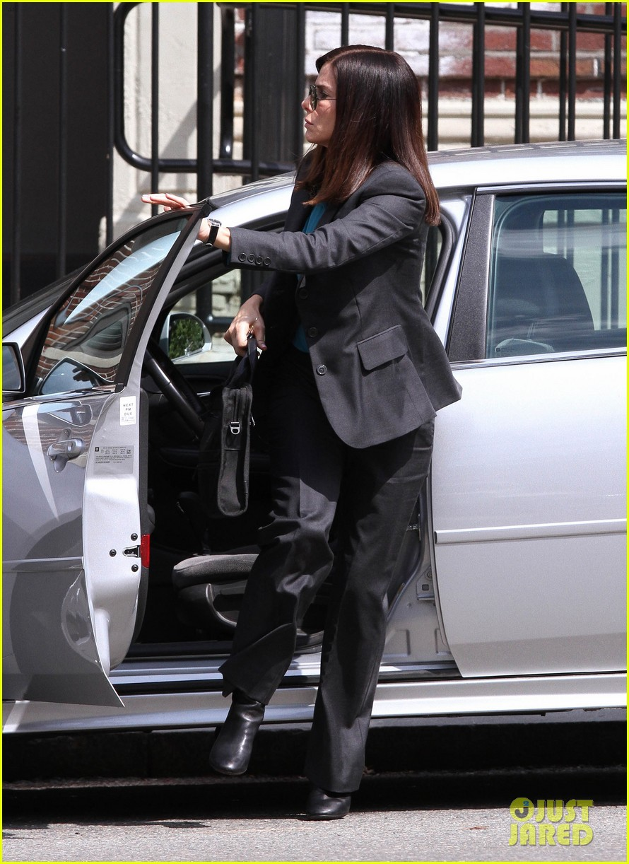 sandra bullock the heat set with melissa mccarthy 09