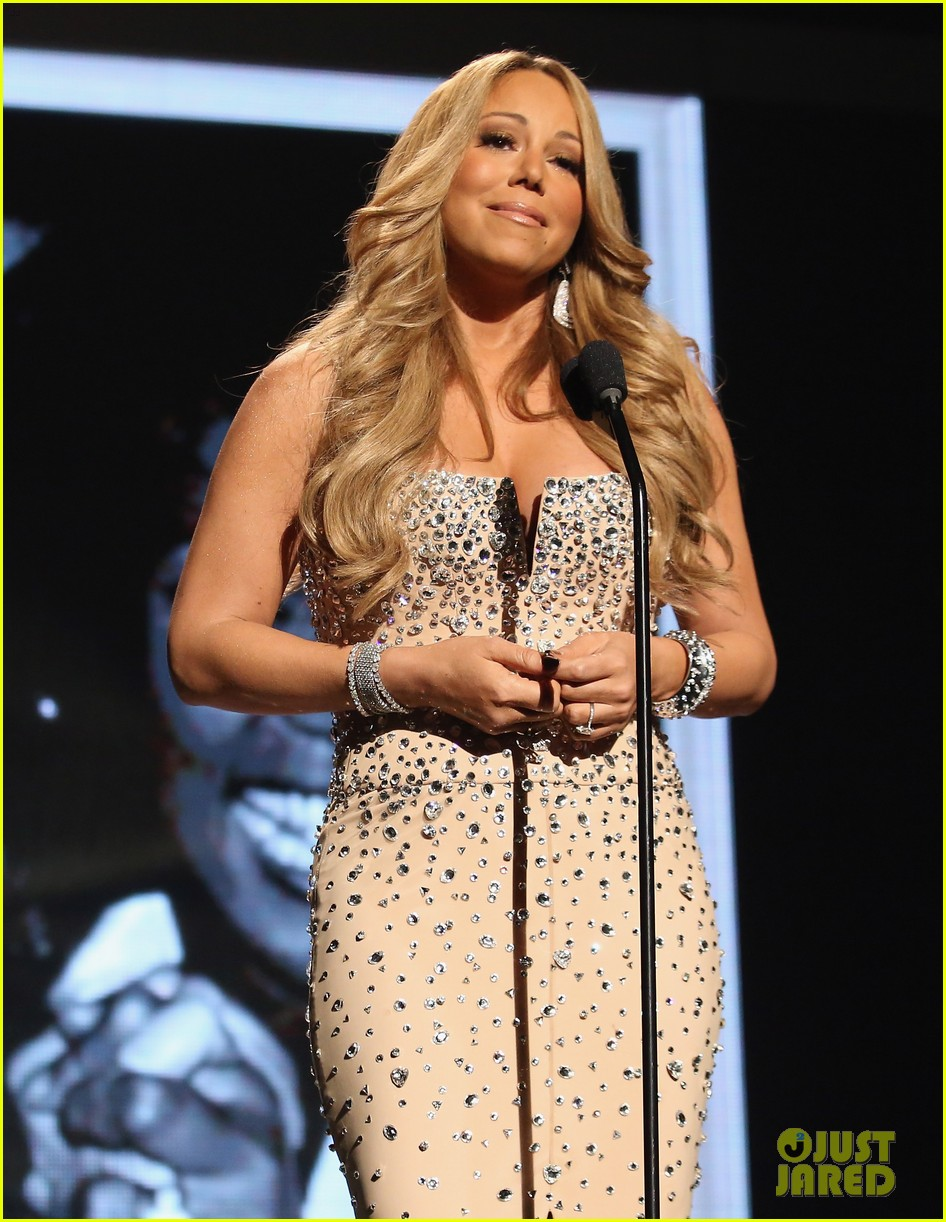 mariah carey whitney houston tribute at bet awards 09