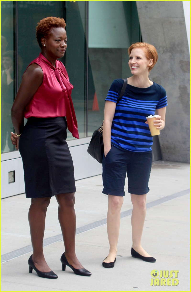 jessica chastain viola davis eleanor rigby set 05