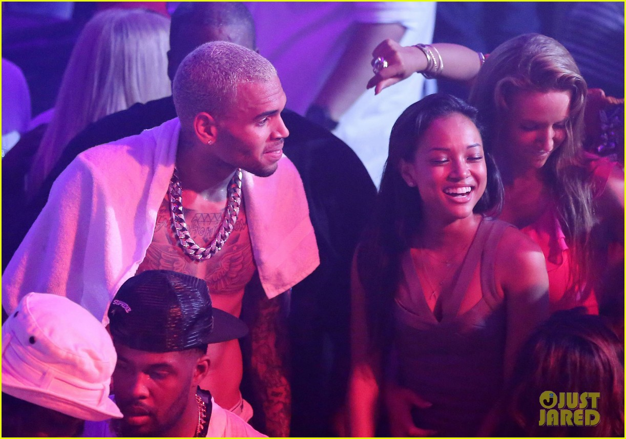 chris brown shirtless gotha club cannes 12
