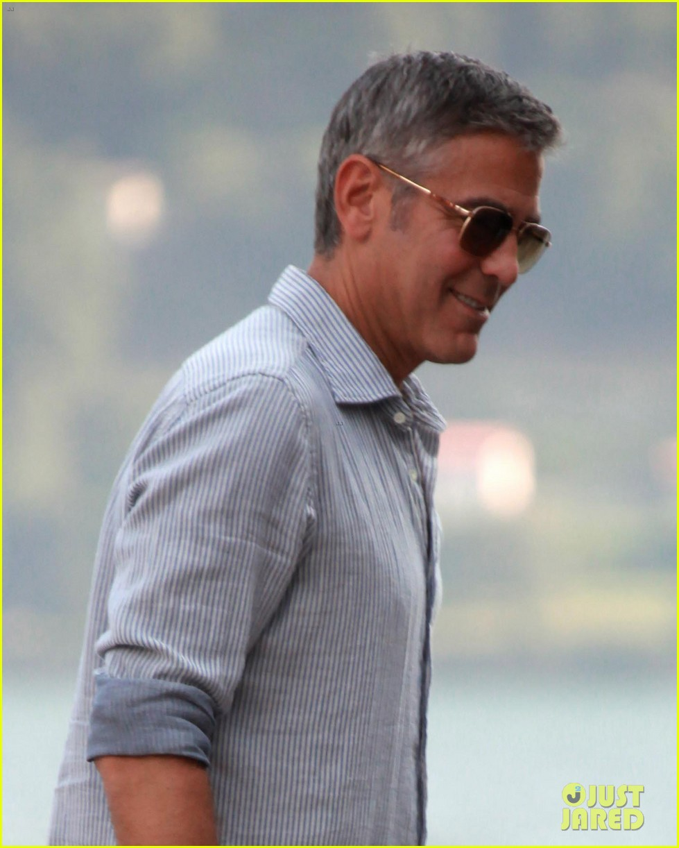 george clooney stacy keibler lake como couple 03