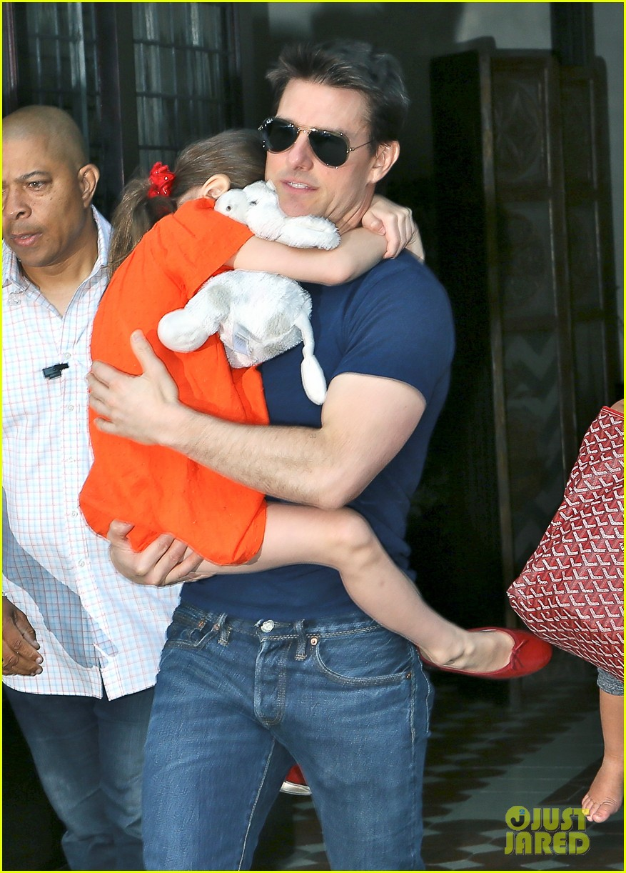 tom cruise suri daddy daughter day 062688856