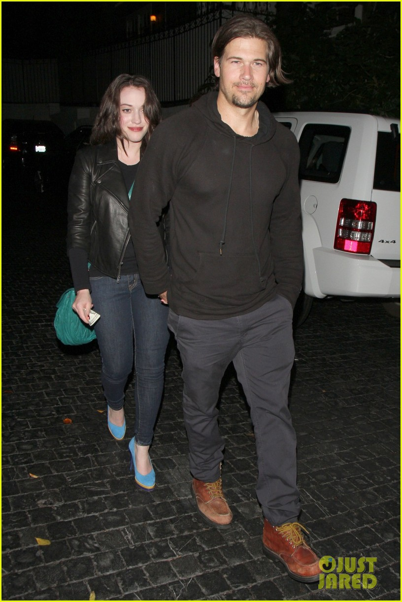 kat dennings chateau marmont with nick zano 01