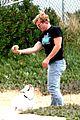 trevor donovan play with dog 02