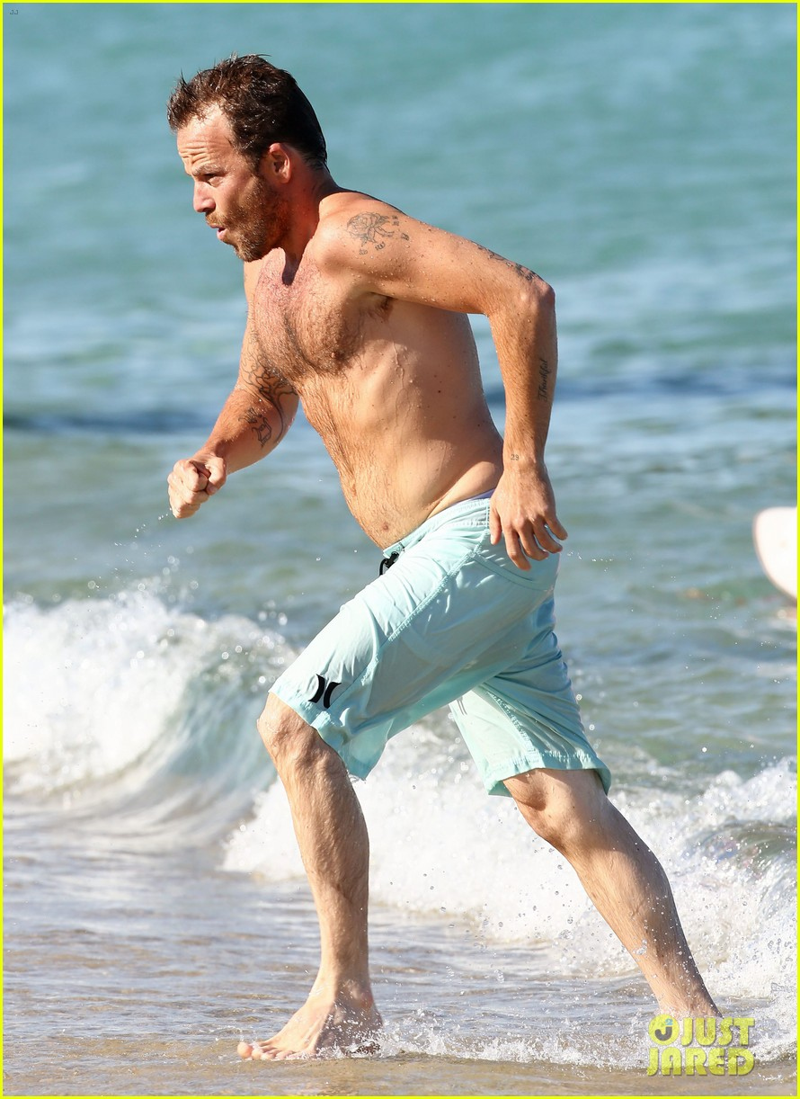 shirtless stephen dorff vacations with tara reid 11