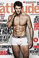 thom evans shirtless for attitude magazine august 2012 01