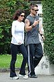 colin farrell morning stroll with sis claudine 04