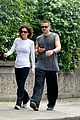 colin farrell morning stroll with sis claudine 06