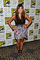 lea michele glee cast hits comic con 2012 30