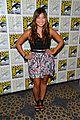lea michele glee cast hits comic con 2012 30