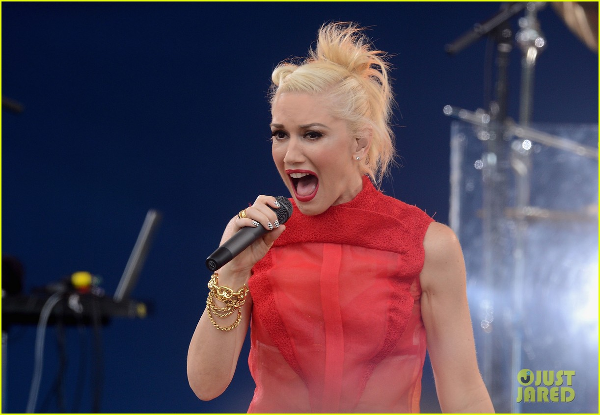 gwen stefani no doubt good morning america 10