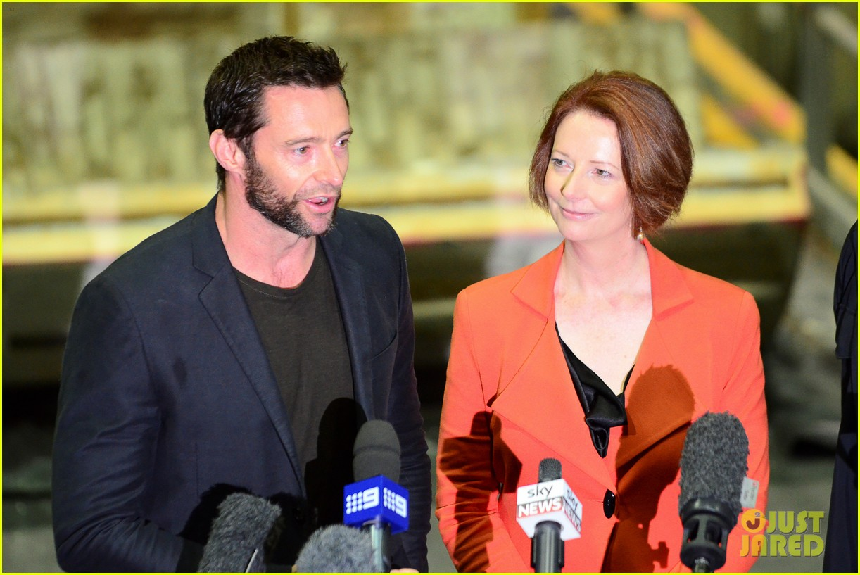 hugh jackman wolverine press conference 032691580