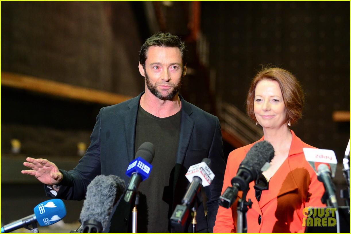 hugh jackman wolverine press conference 072691584