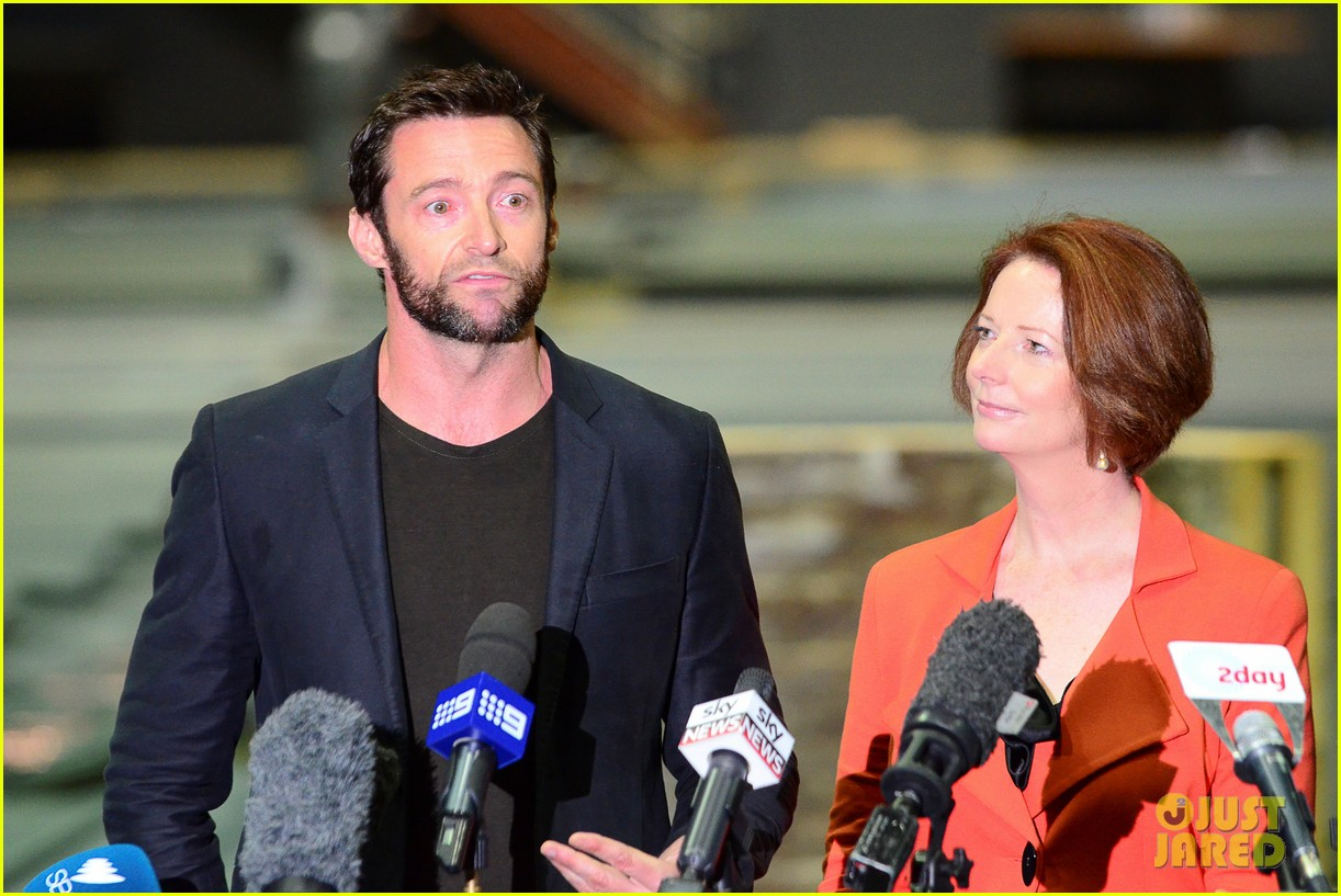 hugh jackman wolverine press conference 142691591