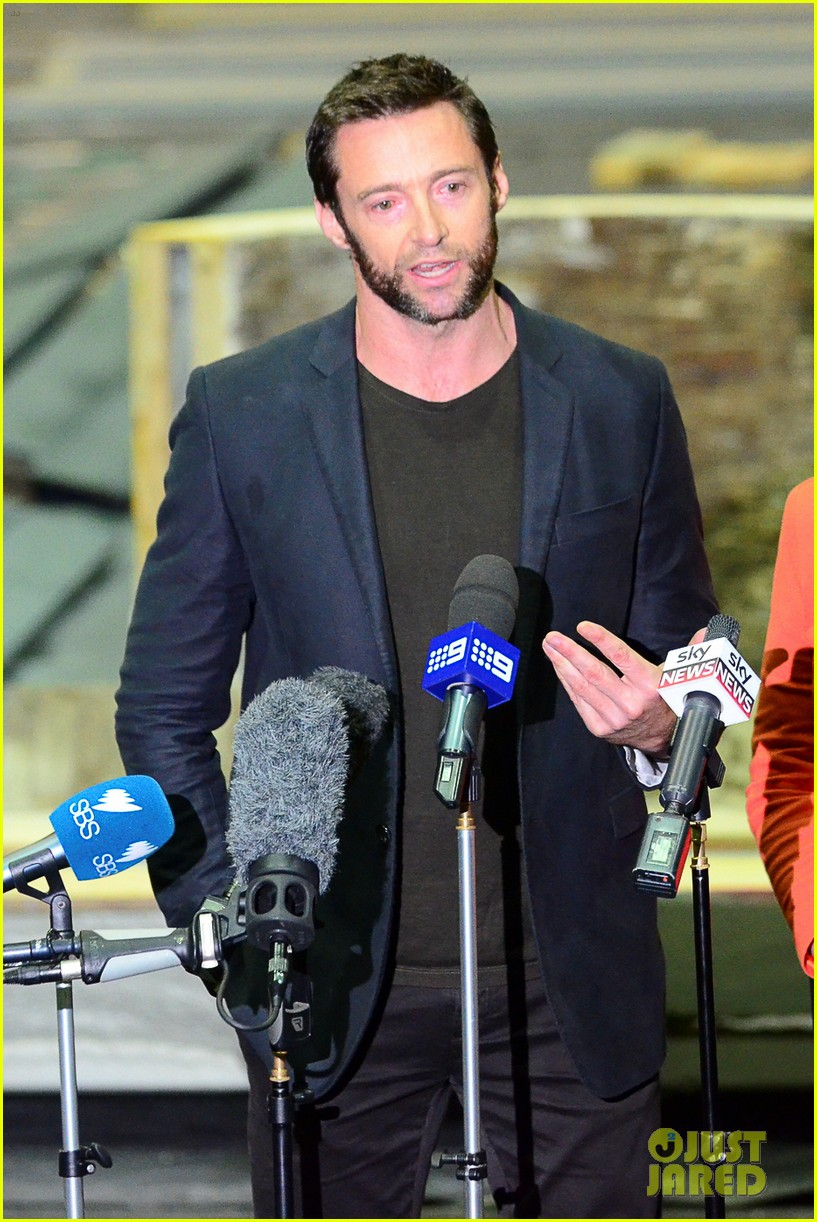 hugh jackman wolverine press conference 15