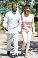 kim kanye out for a walk 01