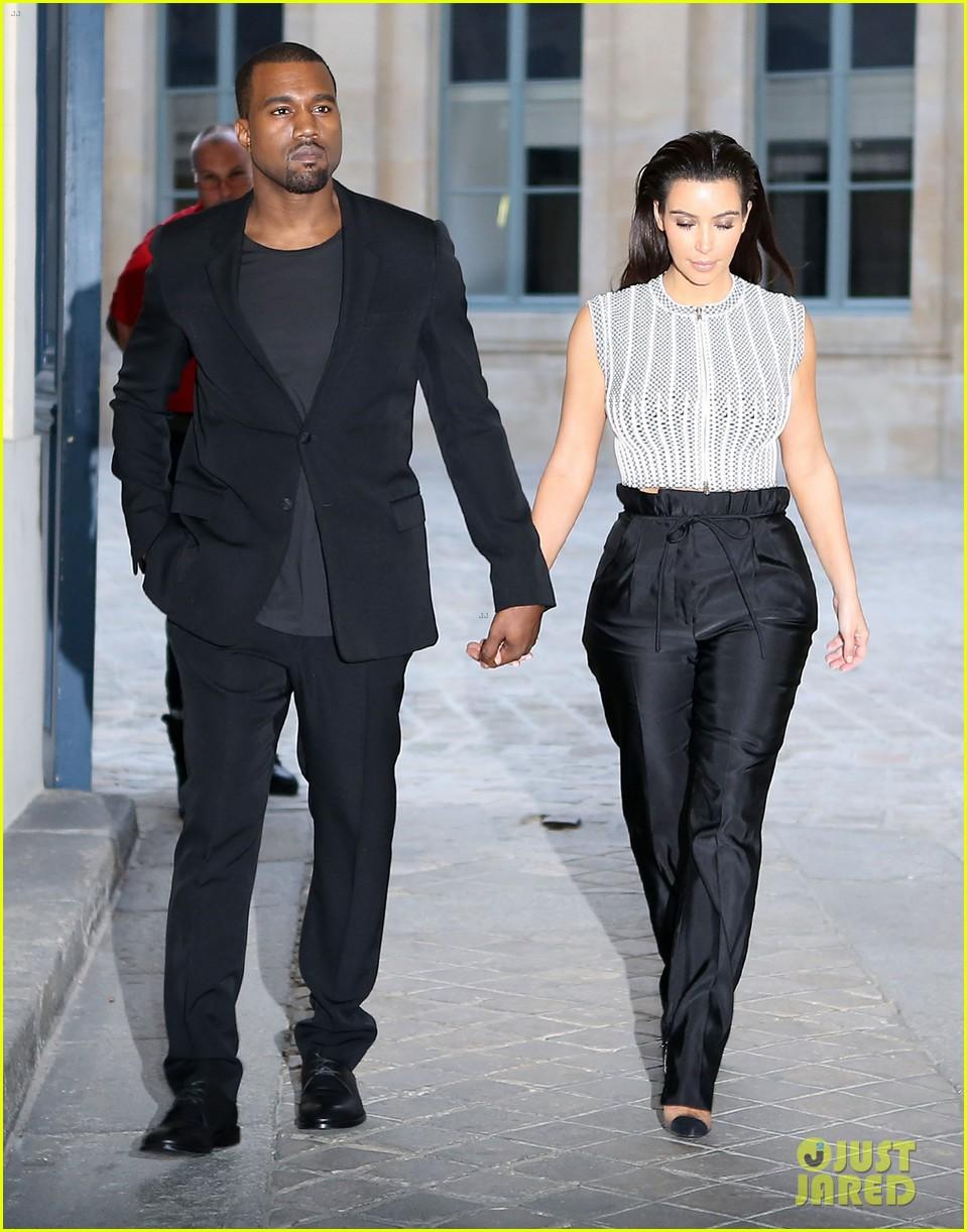 Fashion 39 Till U Drop Kim Kardashian And Kanye West Are Matchy Matchy