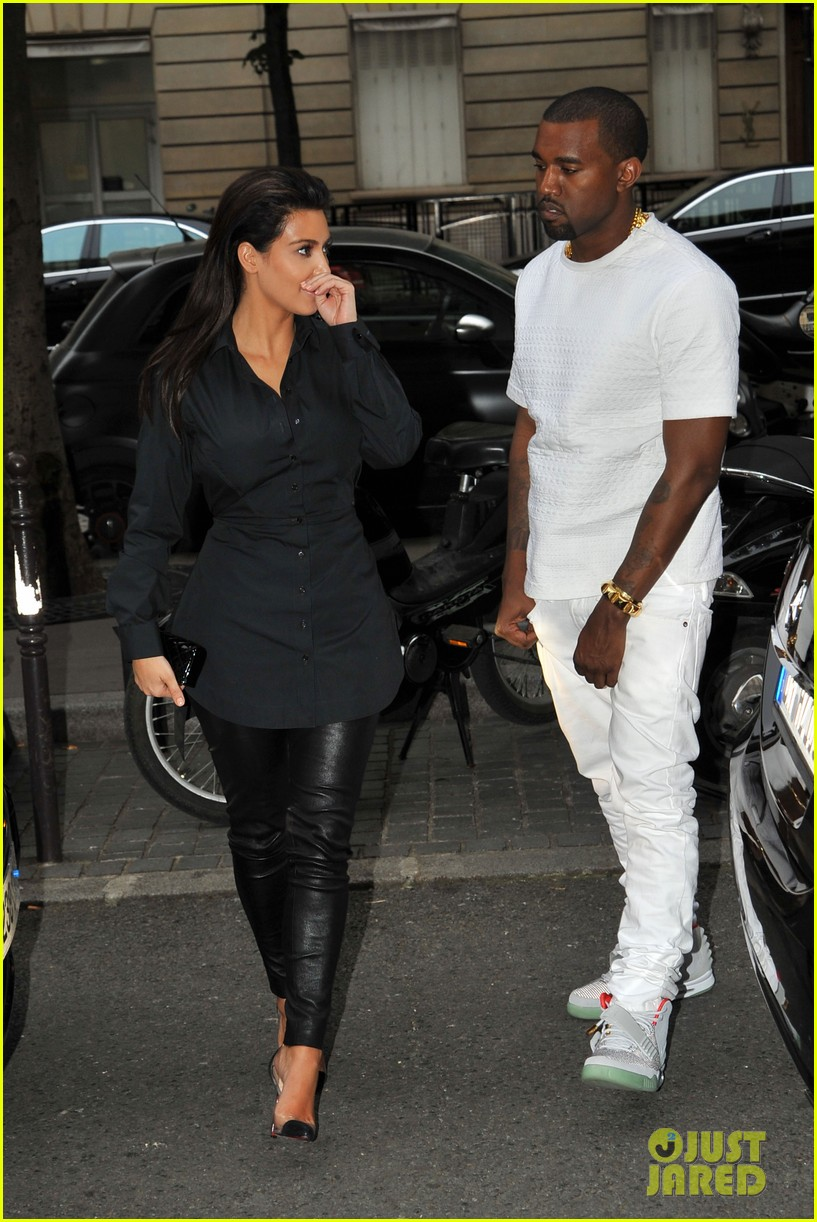 kim kardashian kanye west back in paris 04
