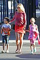 heidi klum nobu dinner with the kids 01