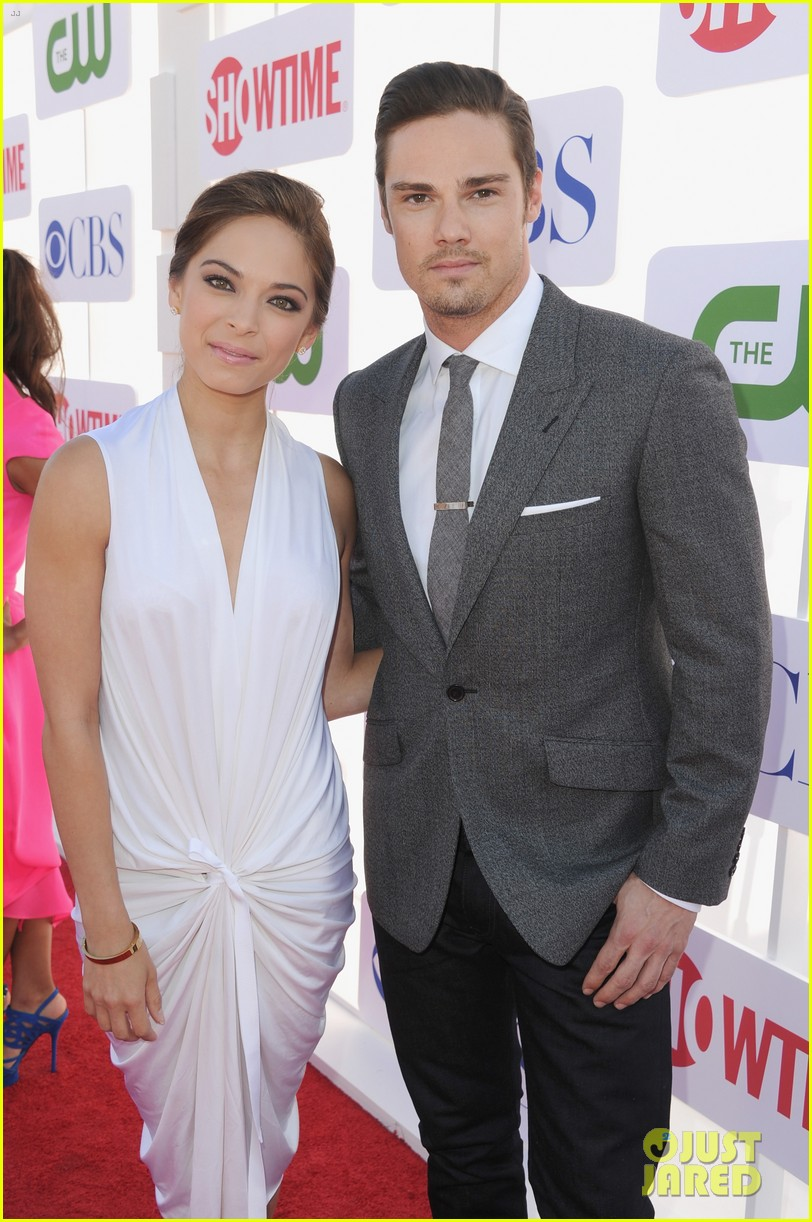 kristin kreuk jay ryan 2012 tca summer party 06