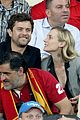 diane kruger joshua jackson cheer on spains win 05