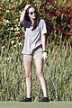 kristen stewart out golfing 15