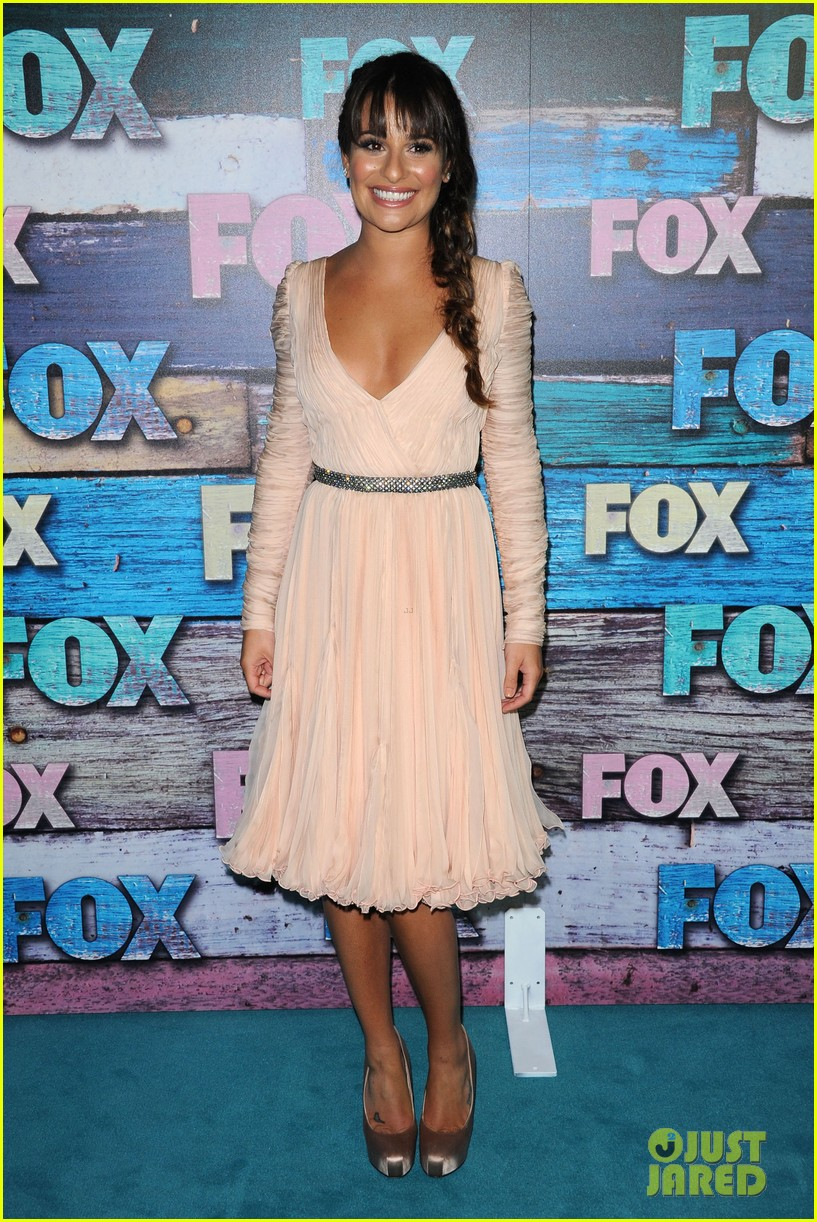 lea michele fox tca all star party 08