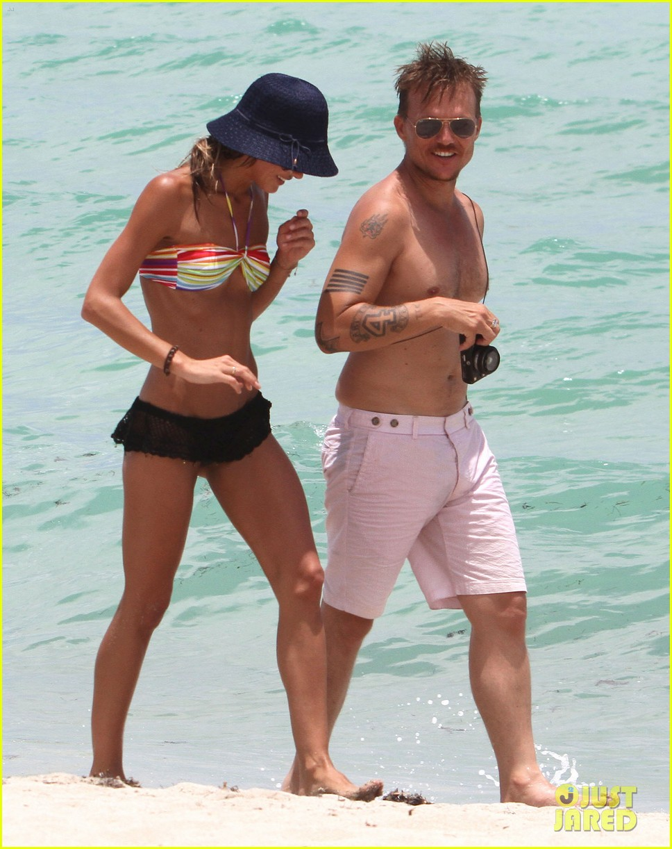 kellan lutz beach day with sharni vinson 232685560