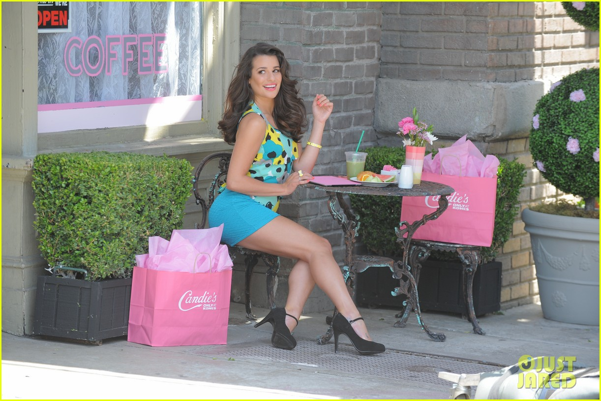 lea michele candies campaign 082685827