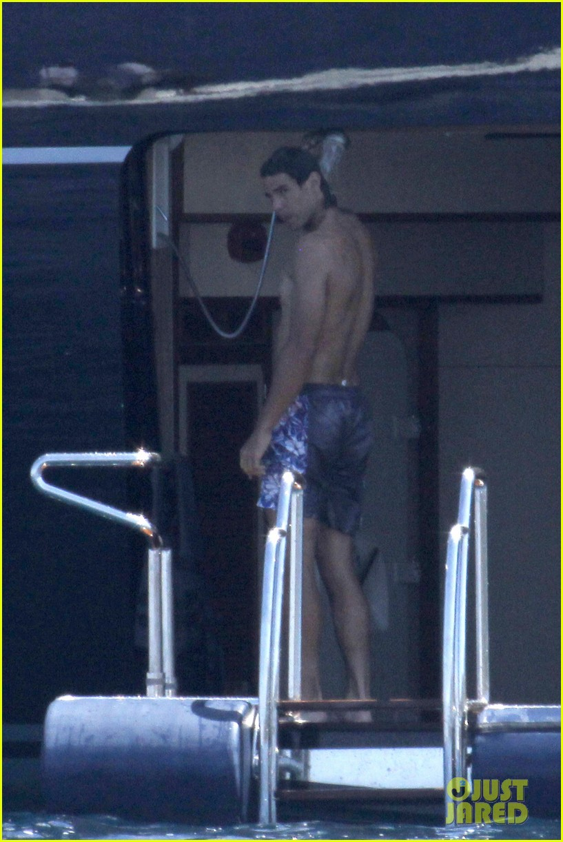 rafael nadal shirtless swim 122685238