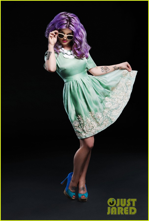 kelly osbourne covers glamoholic anniversary issue 02