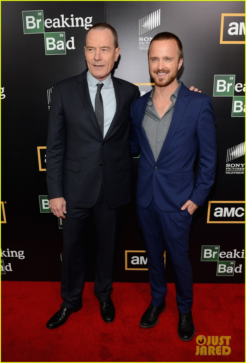aaron paul bryan cranston breaking bad premiere 01
