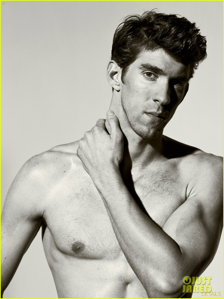 michael phelps shirtless on details olympics issue 02