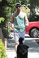 zachary quinto walking dogs 05